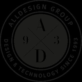 Logo der Alldesign Gruppe