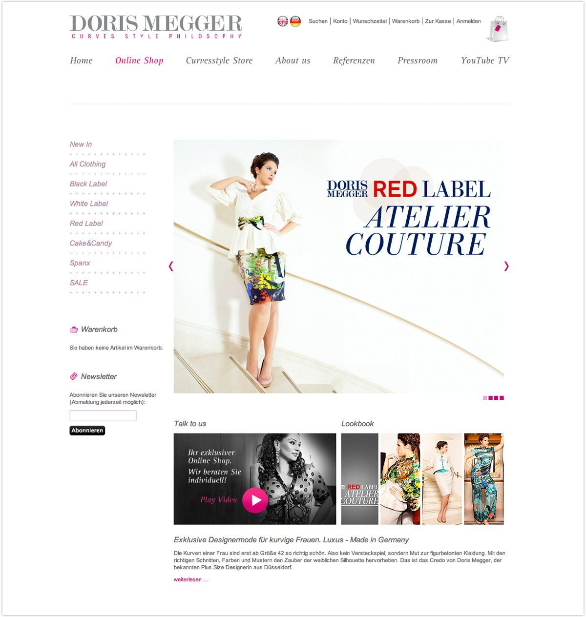 Doris Megger - curvesstyle.com Online-Shop