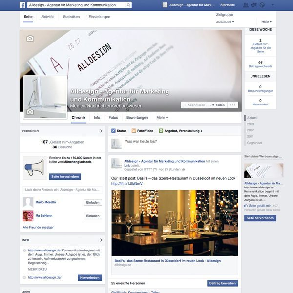 Alldesign Facebook