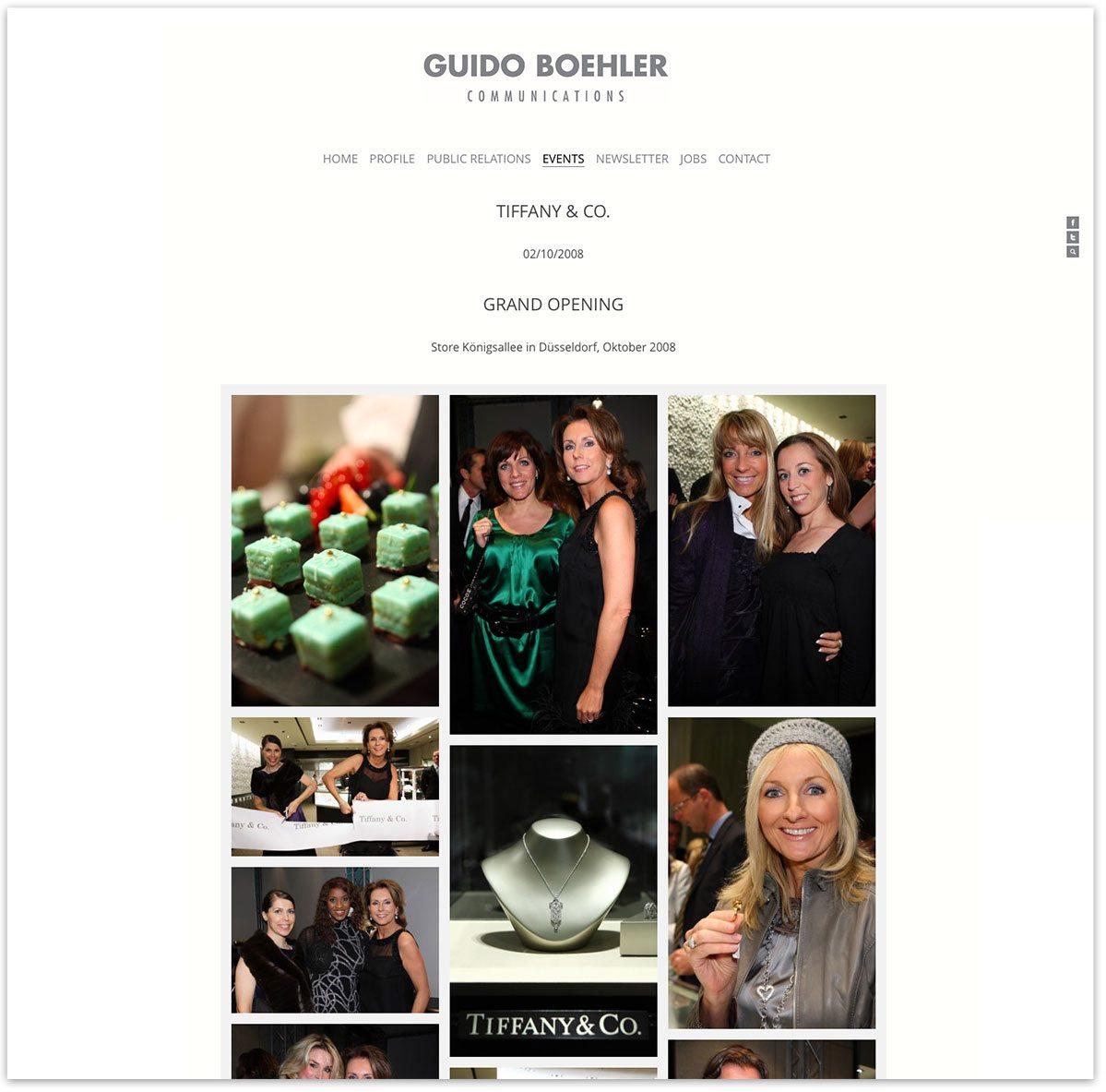 Guido Boehler Communications Website