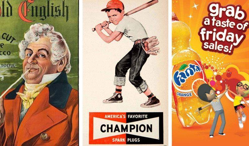Illustrationen in der Werbung im Wandel der Zeit