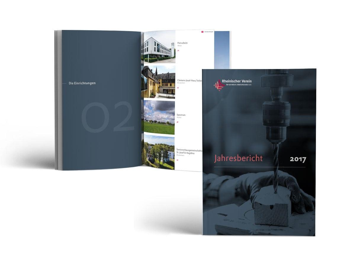 Jahresbericht Broschüre